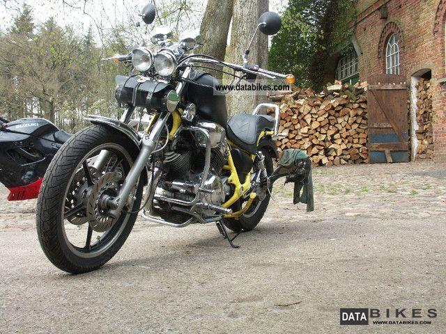 1992 Yamaha  xv 750 costum deep conversion Motorcycle Chopper/Cruiser photo