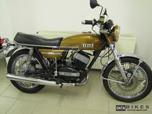 Yamaha  RD 250 YDS-7 / Very good condition 1974 Vintage, Classic and Old Bikes photo