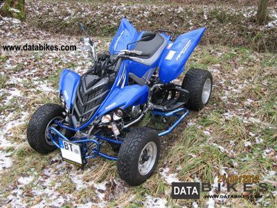 2009 Yamaha  700 Raptor Motorcycle Quad photo