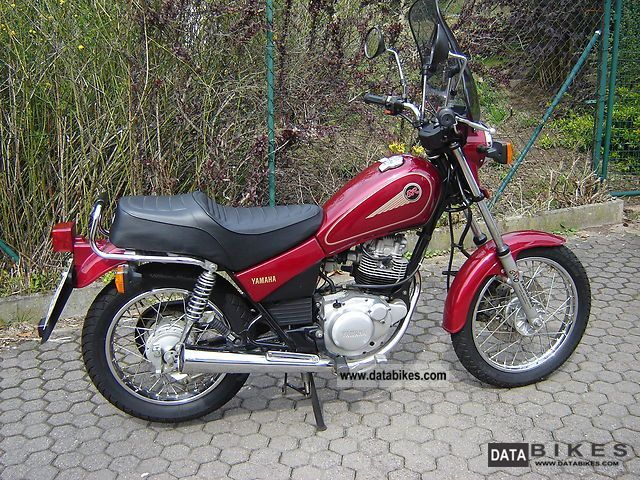 1998 Yamaha  125SR Motorcycle Lightweight Motorcycle/Motorbike photo