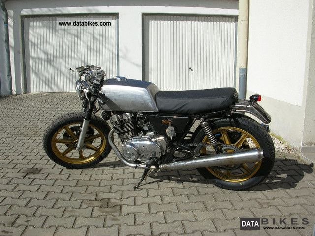 Yamaha  XS TX 500 cafe racer Bratstyle Scrambler Vintage 1979 Vintage, Classic and Old Bikes photo