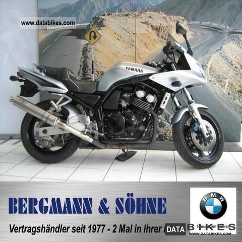 2002 Yamaha  FZ 6 Fazer S Motorcycle Motorcycle photo