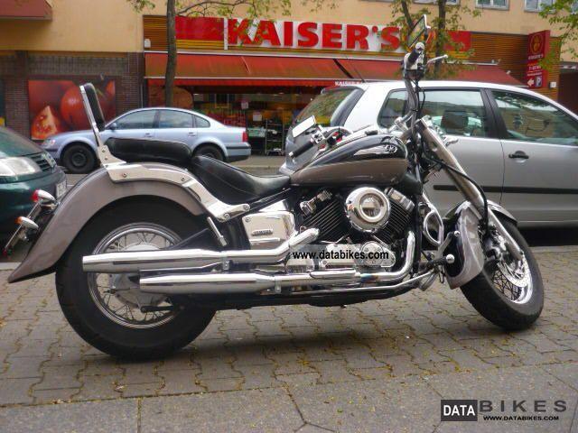 1998 Yamaha  Dragstar XVS 650 with horny hammer SOUND Motorcycle Chopper/Cruiser photo
