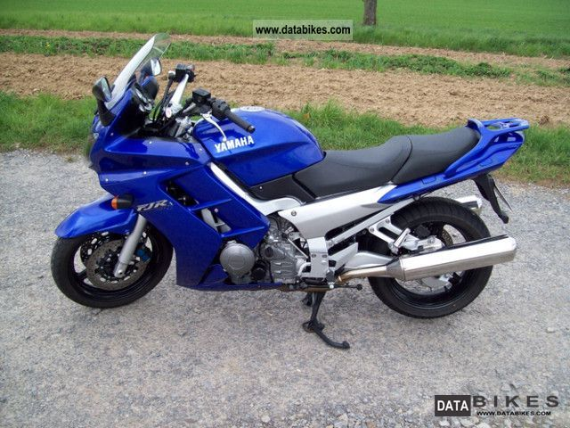 2002 Yamaha  FJR Motorcycle Tourer photo