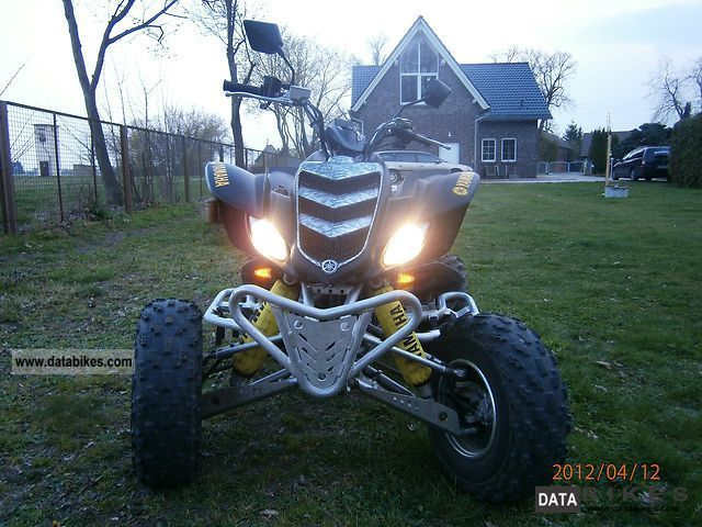 2005 Yamaha  Raptor 660 Motorcycle Quad photo