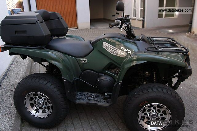 quad yamaha grizzly 700 fi
