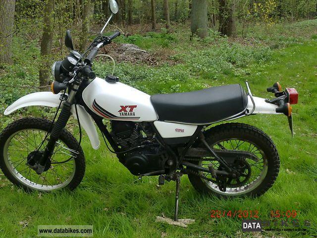 1986 Yamaha  XT250 Motorcycle Enduro/Touring Enduro photo