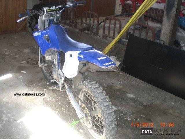 2001 Yamaha YZ 426