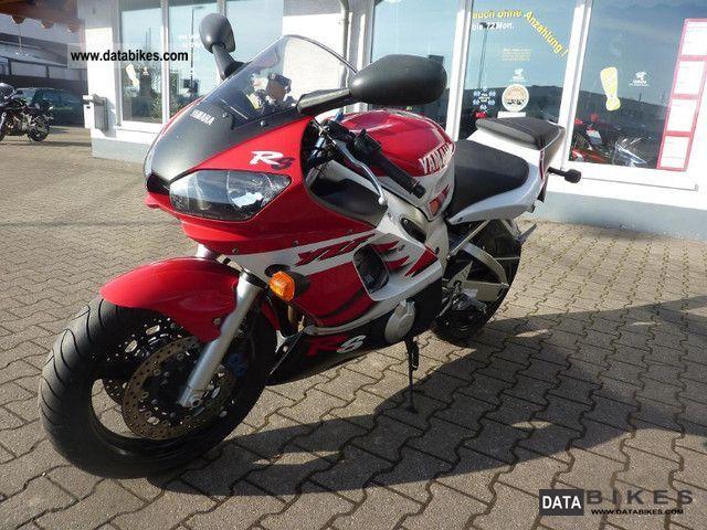 2000 Yamaha Yzf 600 R6