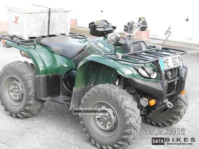 2004 Yamaha  Kodiak 450 4x4 ATV Motorcycle Quad photo