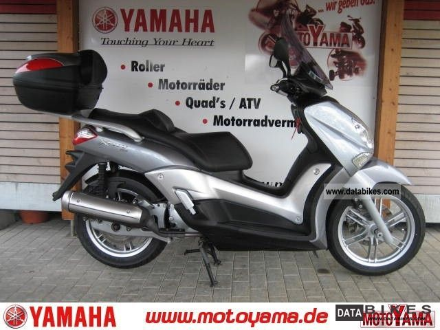 2010 Yamaha  X-City 125, 1 hand + + + KD tires topcase + + TUeV grant Motorcycle Scooter photo
