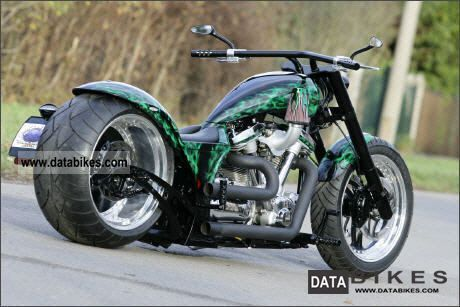 2002 Yamaha  XV 1600 Wild Star Custom customized version Motorcycle Chopper/Cruiser photo