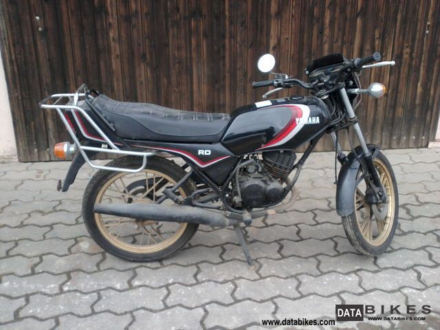 1999 Yamaha  RD 80 Motorcycle Motor-assisted Bicycle/Small Moped photo