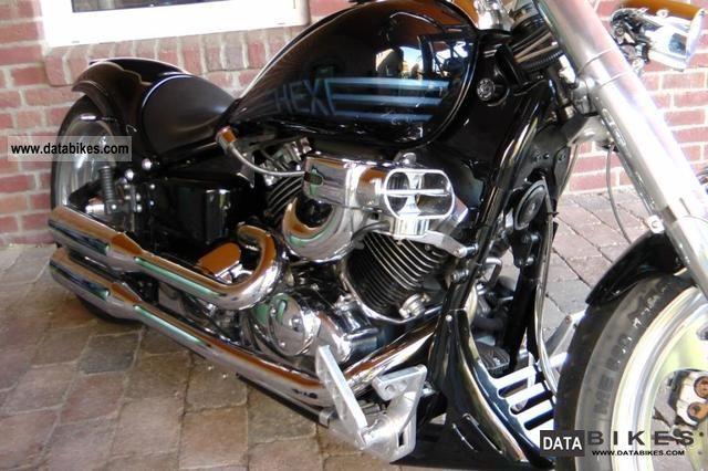 2002 Yamaha  Custom Bike XVS 650 total reconstruction Gietl Motorcycle Chopper/Cruiser photo