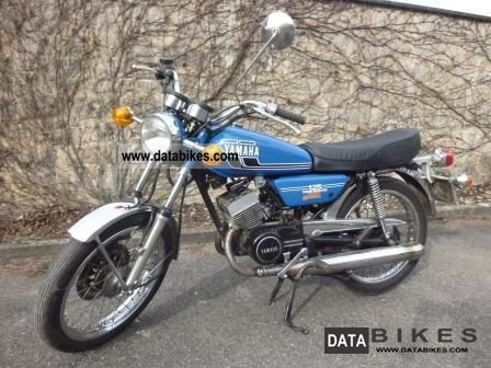Yamaha  RD 125 DX 1976 Vintage, Classic and Old Bikes photo