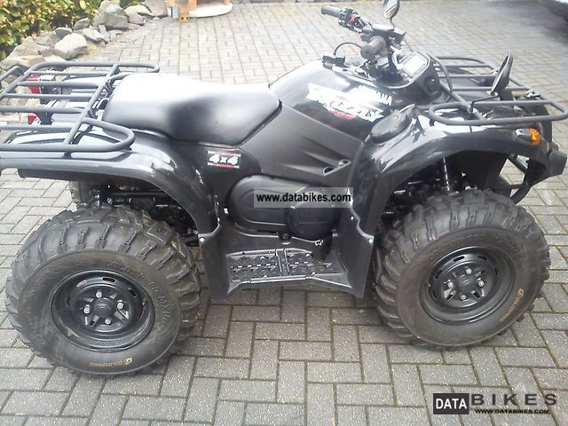 Yamaha  grizzly 450 2008 Quad photo