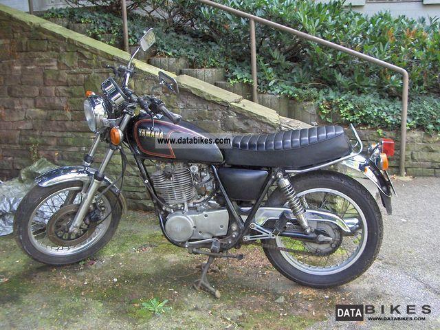 1987 Yamaha  SR 500 Motorcycle Motorcycle photo