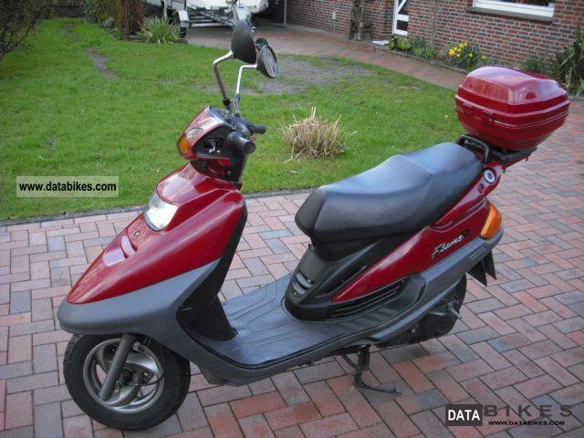 1997 Yamaha  Flame Motorcycle Scooter photo
