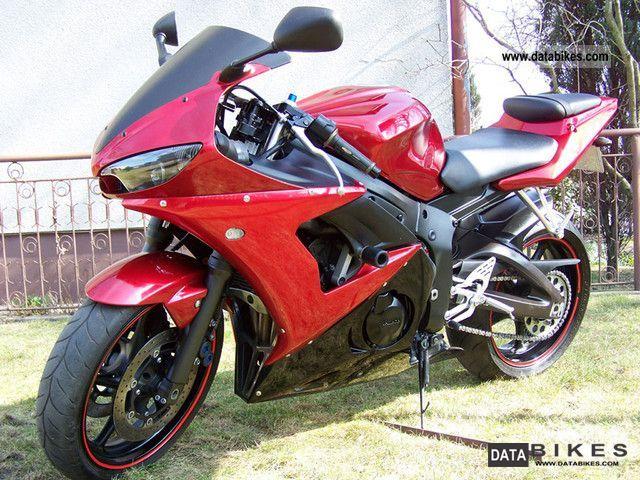2007 Yamaha yamaha R6 2007