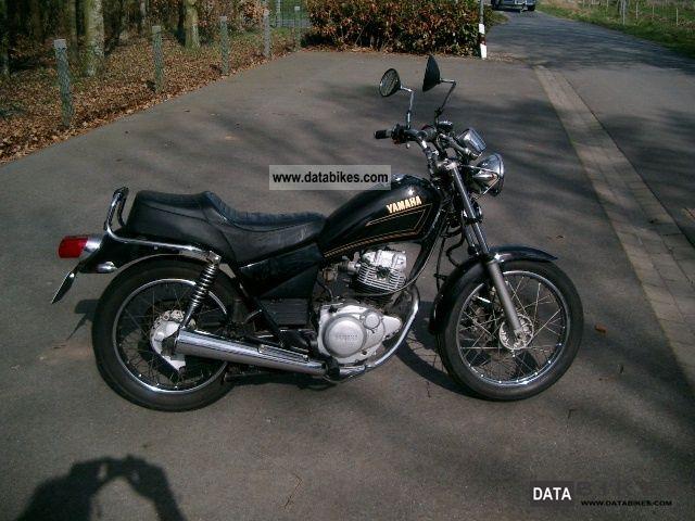 1999 Yamaha SR 125 Chopper Bike