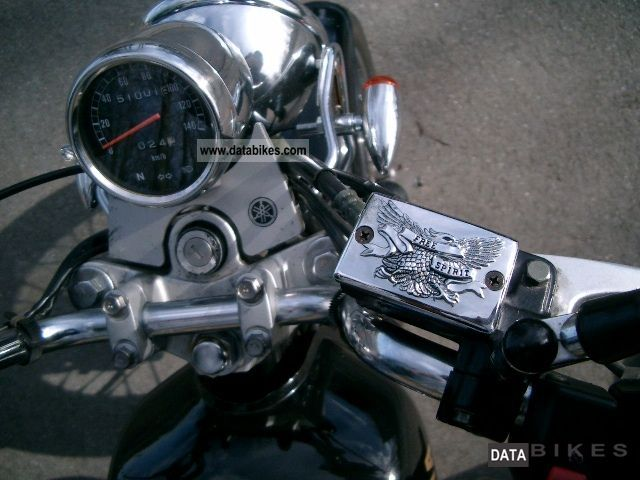1999 yamaha sr 125 motorcycle chopper cruiser photo 2