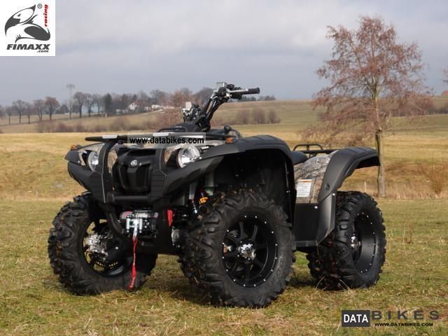 2012 Yamaha  GRIZZLY 700 FI EPS FIMAXX ® HUNTERS EDITION NO.1 Motorcycle Quad photo