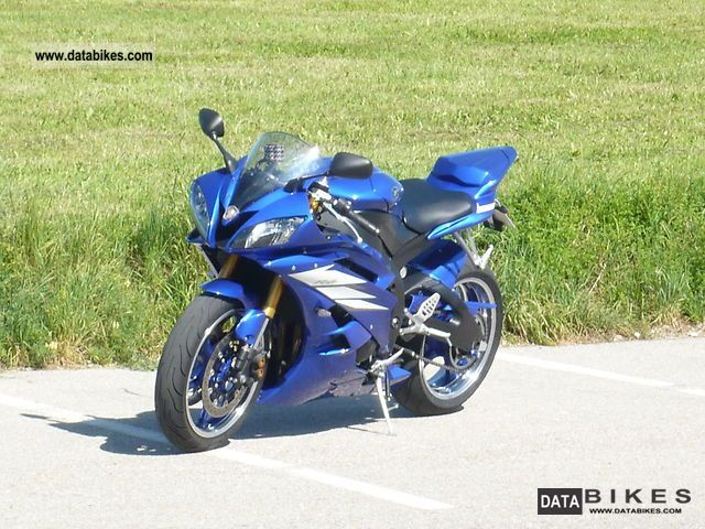 2006 Yamaha Rj11 R6 Motorcycle Sports Super Bike Photo