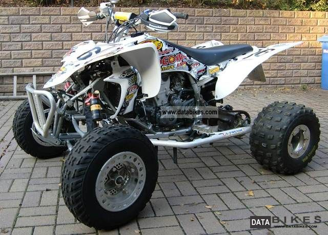 2004 Yamaha  YFZ 450 with many tuning parts Motorcycle Quad photo