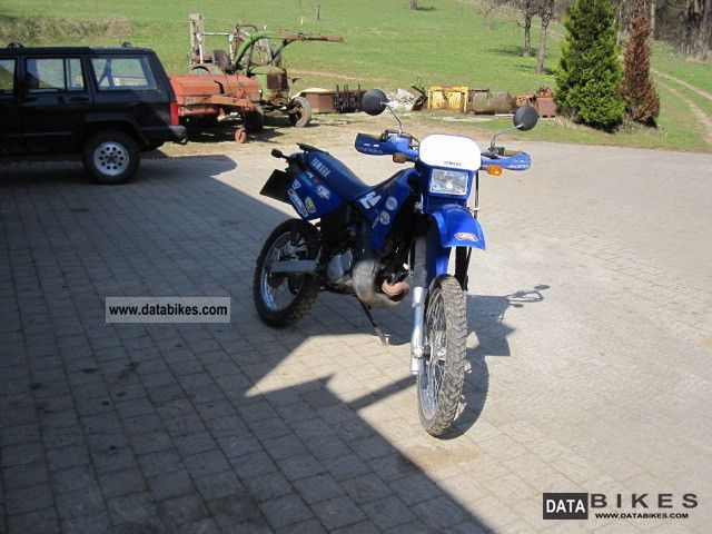 1999 Yamaha  125 DTR Motorcycle Enduro/Touring Enduro photo