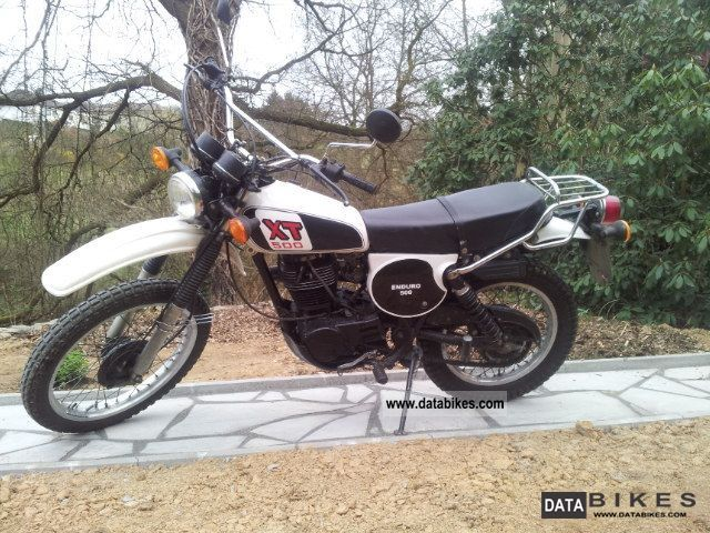 Yamaha  XT 500 1977 Vintage, Classic and Old Bikes photo