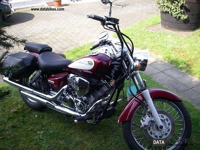 2000 Yamaha  125 Drag Star XVSVE01 Motorcycle Chopper/Cruiser photo