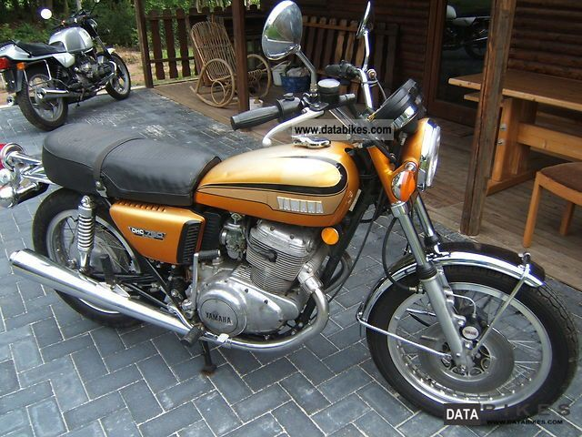 Yamaha  TX 750 1973 Vintage, Classic and Old Bikes photo