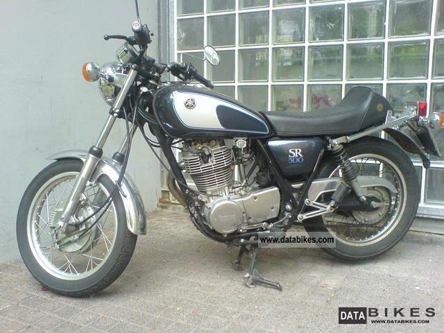1993 Yamaha  SR 500 Motorcycle Naked Bike photo