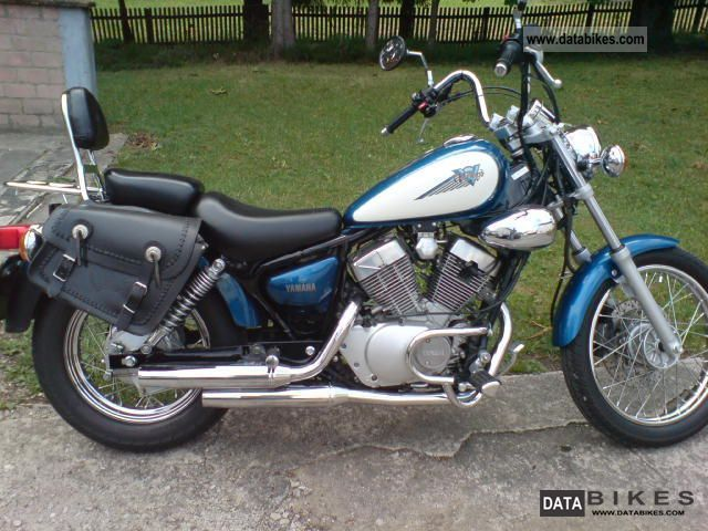 Yamaha Virago 125 ERST 9600 Km TOPZUSTAND 2002 Chopper Cruiser Photo