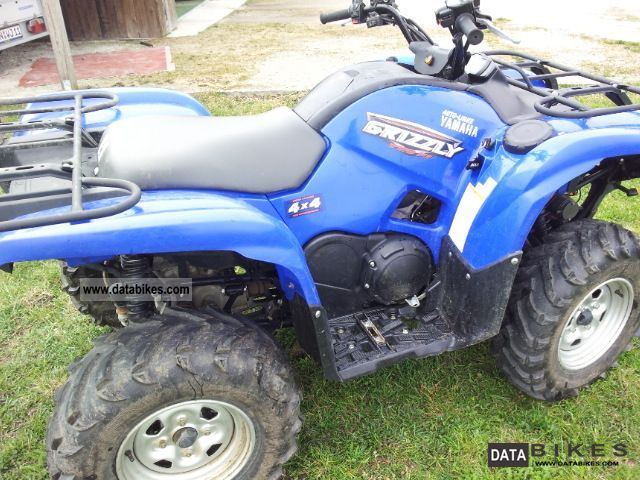 Yamaha  Grizzly 700 with winch 2009 Quad photo