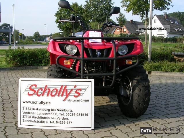 2010 Yamaha  Grizzly 350 Motorcycle Quad photo