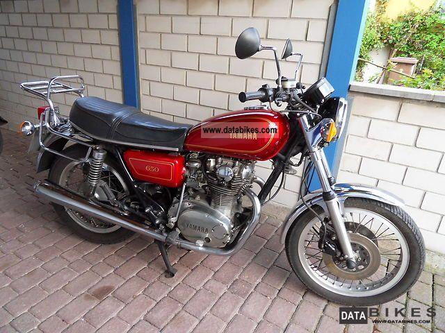 1985 Yamaha  XS 650 Motorcycle Naked Bike photo