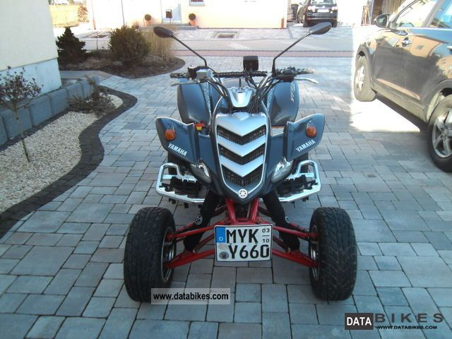 2002 Yamaha  Raptor 660 Motorcycle Quad photo
