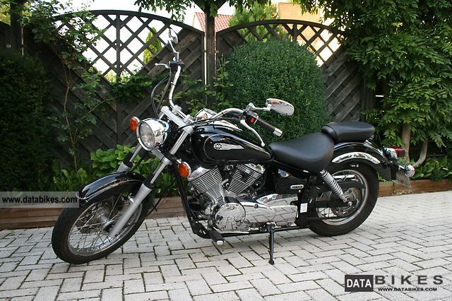 2002 Yamaha XVS 125 Chopper Bike
