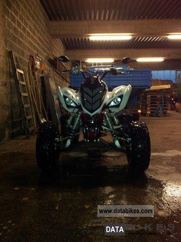 2011 Yamaha  Raptor 700 Motorcycle Quad photo