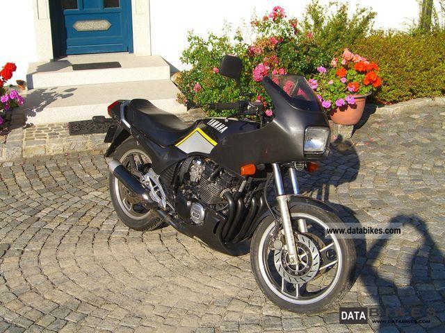 1986 Yamaha  XJ600 Motorcycle Motorcycle photo