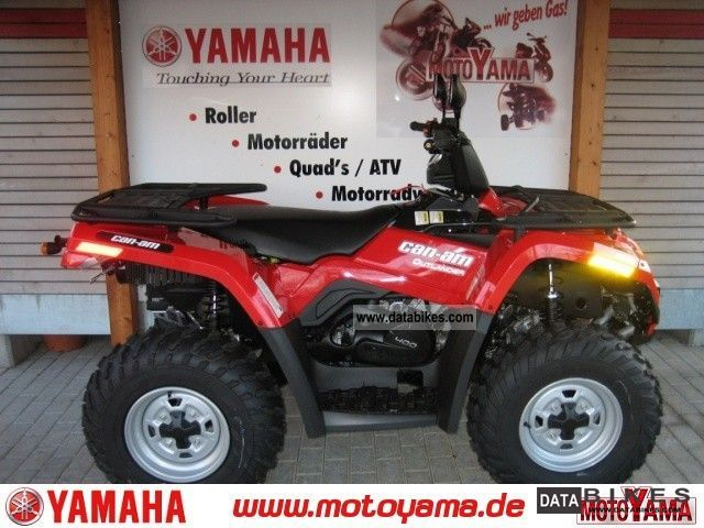 2011 Yamaha  Outlander 400, new - Model 2012! Motorcycle Quad photo