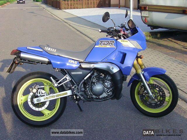 1990 Yamaha  TDR 250 Motorcycle Super Moto photo