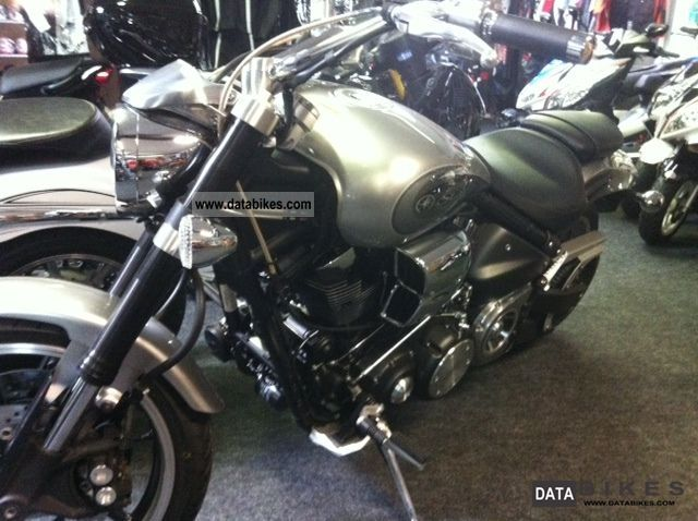 2011 Yamaha  XV 1700 Warrior NEW Model 2009 Motorcycle Chopper/Cruiser photo