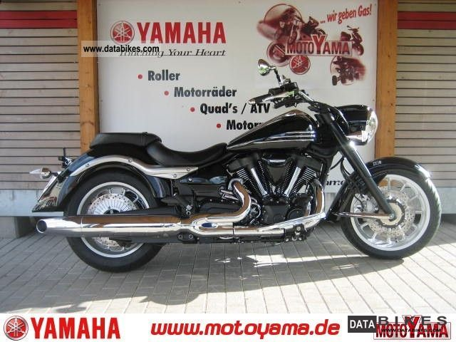Yamaha  XV1900 A new model with Intergralbremssystem! 2011 Chopper/Cruiser photo