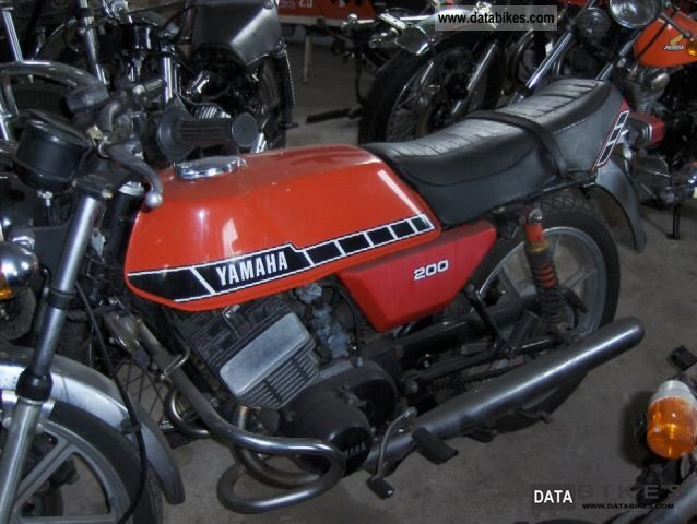 Yamaha  RD 200 1978 Vintage, Classic and Old Bikes photo