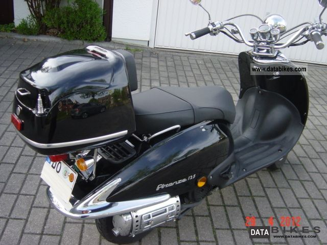 2009 zhongyu retro 50cc scooter firenz. Black Bedroom Furniture Sets. Home Design Ideas