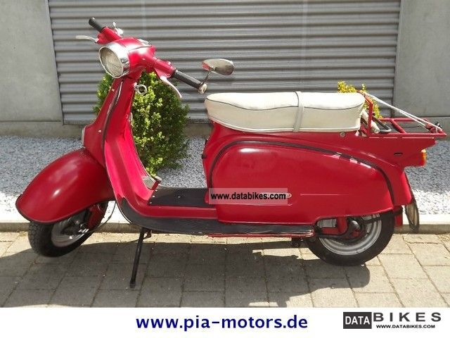 Zundapp  Zundapp moped scooter R 50 1964 Vintage, Classic and Old Bikes photo