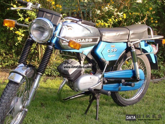 Zundapp  Zündapp C 50 sports 1976 Vintage, Classic and Old Bikes photo