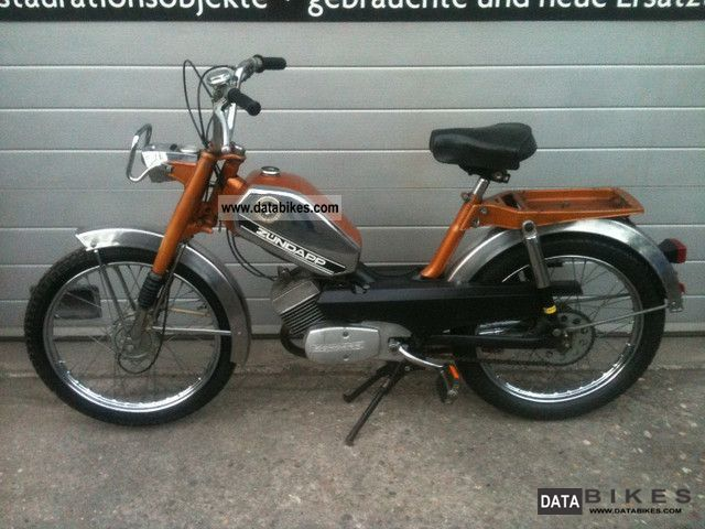 Zundapp  25 ZR20 Zundapp moped vintage 1977 ZD ZA ZE ZR CX CS M50 1976 Vintage, Classic and Old Bikes photo